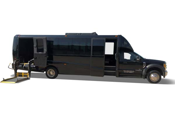 23 Passenger ADA Vehicle (Available on request)