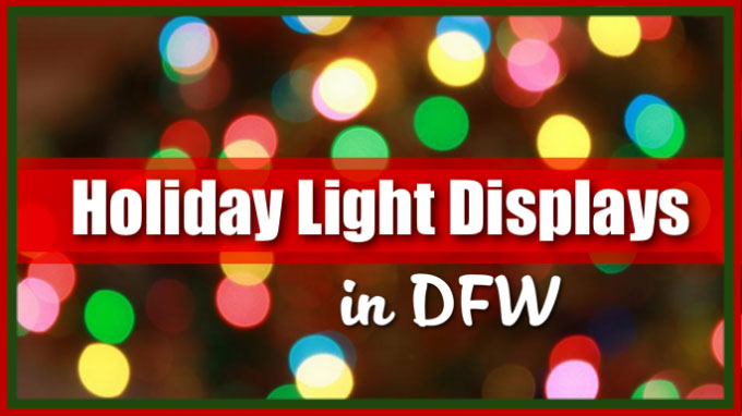 Holiday Light Tours in the Dallas / Fort Worth Metroplex
